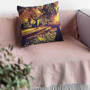 Park Shadows Throw Pillow - Home Decor - Couch Pillow personalized gifts custom gift idea Expanded Perspective