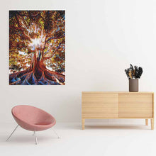 Load image into Gallery viewer, Tree of Life Canvas Print - Wall Art - Decor - Graphic Art personalized gifts custom gift idea Expanded Perspective