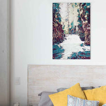 Load image into Gallery viewer, White Water Canvas Print - Wall Art - Decor - Graphic Art personalized gifts custom gift idea Expanded Perspective