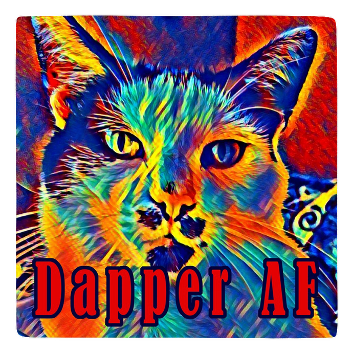 This Cat is Dapper AF - Sir Nibbler - Meme Magnet personalized gifts custom gift idea Expanded Perspective