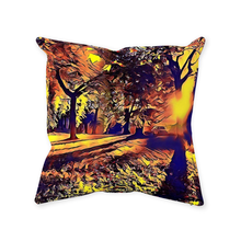 Load image into Gallery viewer, Park Shadows Throw Pillow - Home Decor - Couch Pillow personalized gifts custom gift idea Expanded Perspective