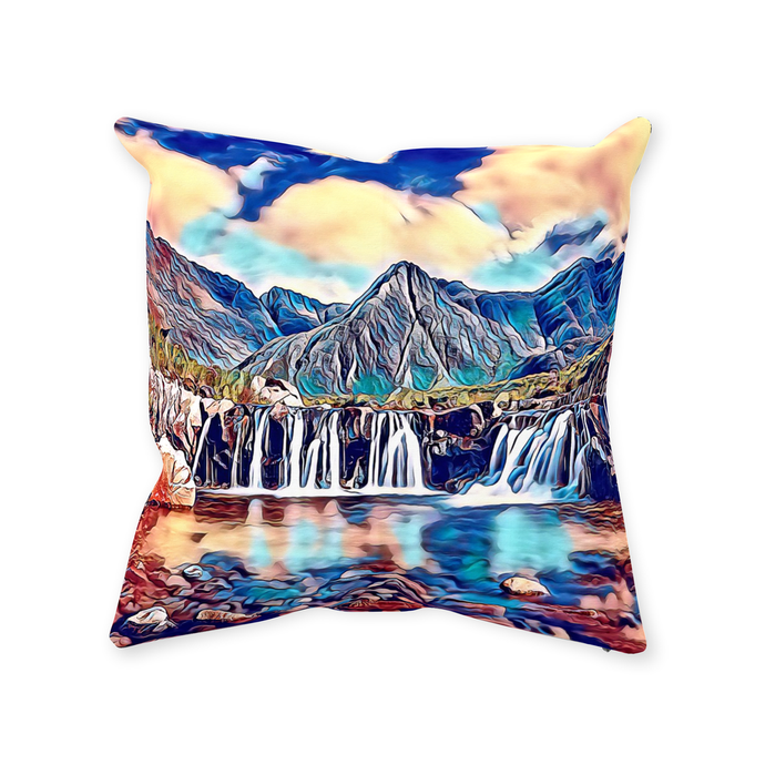 Isle of Skye Throw Pillow - Home Decor - Couch Pillow personalized gifts custom gift idea Expanded Perspective