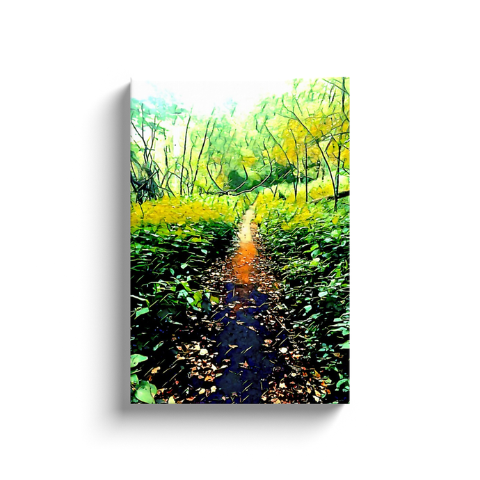 The Path - Wall Art - Decor - Graphic Art personalized gifts custom gift idea Expanded Perspective