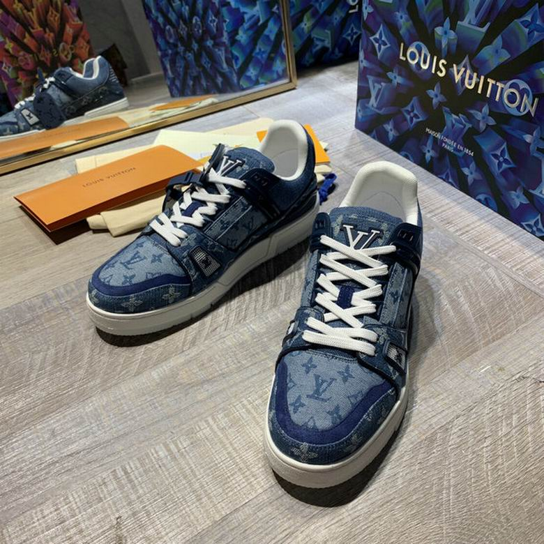 DENIM TRAINER SNEAKER