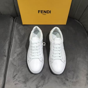 FF Embossed Motif Sneakers