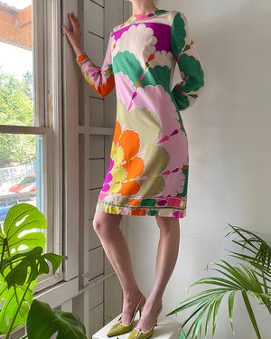 60s Pucci Silk Dress