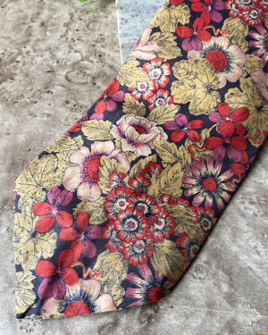 80s Liberty of London Cotton Tie