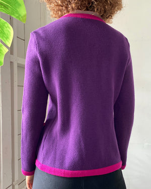 80s YSL Cardigan Sweater