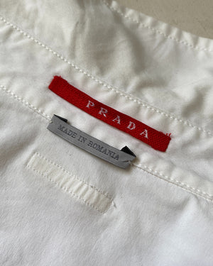 Y2K Puff Sleeve Prada Top