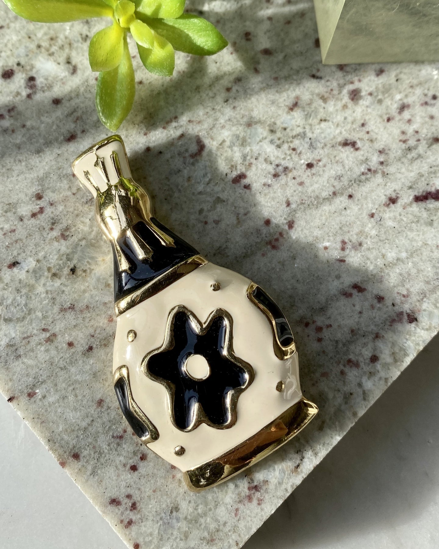 80s Givenchy Bottle Brooch
