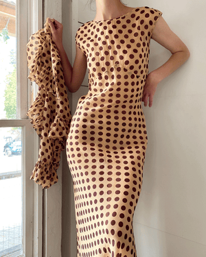 30s Polka Dot Gown