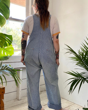 60s Hickory Stripe Overalls
