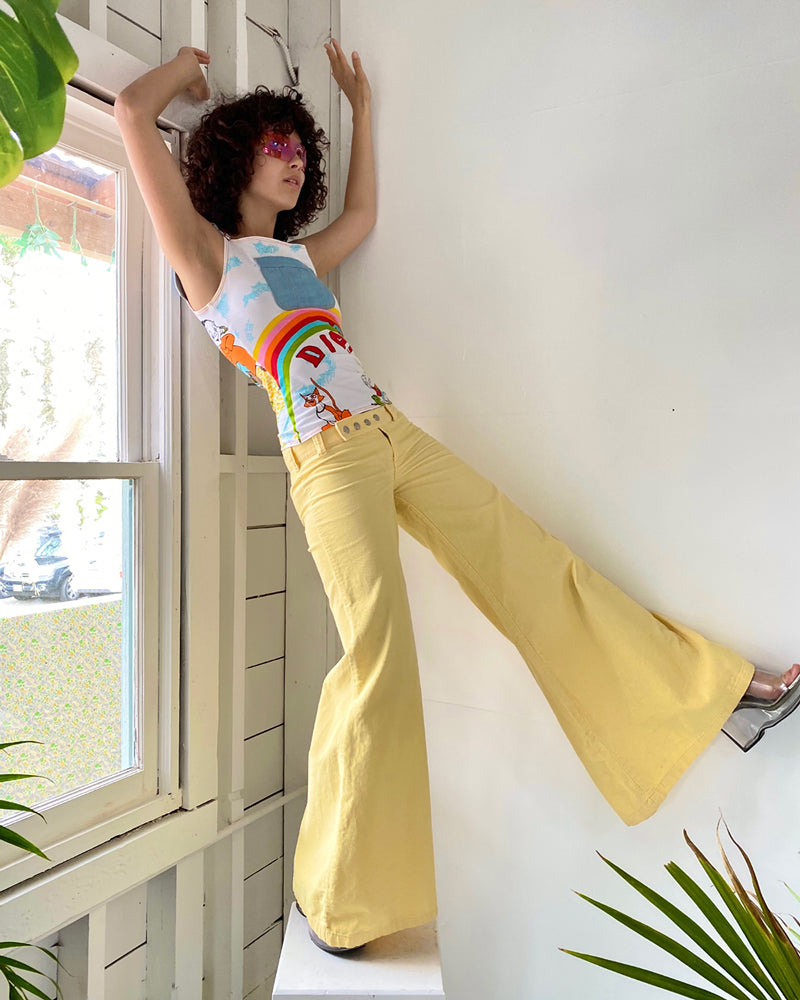 60s Low Rise Corduroy Bellbottoms