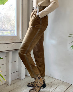 80s Soft Leather Pants