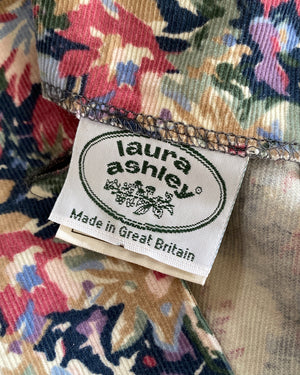 80s Laura Ashley Corduroy Dress
