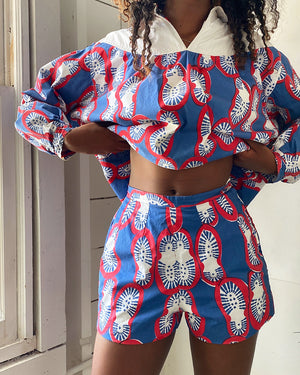 60s Novelty Print 2pc Set