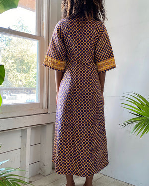 70s Quilted Dress
