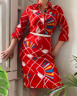 70s Lanvin Shirt Dress