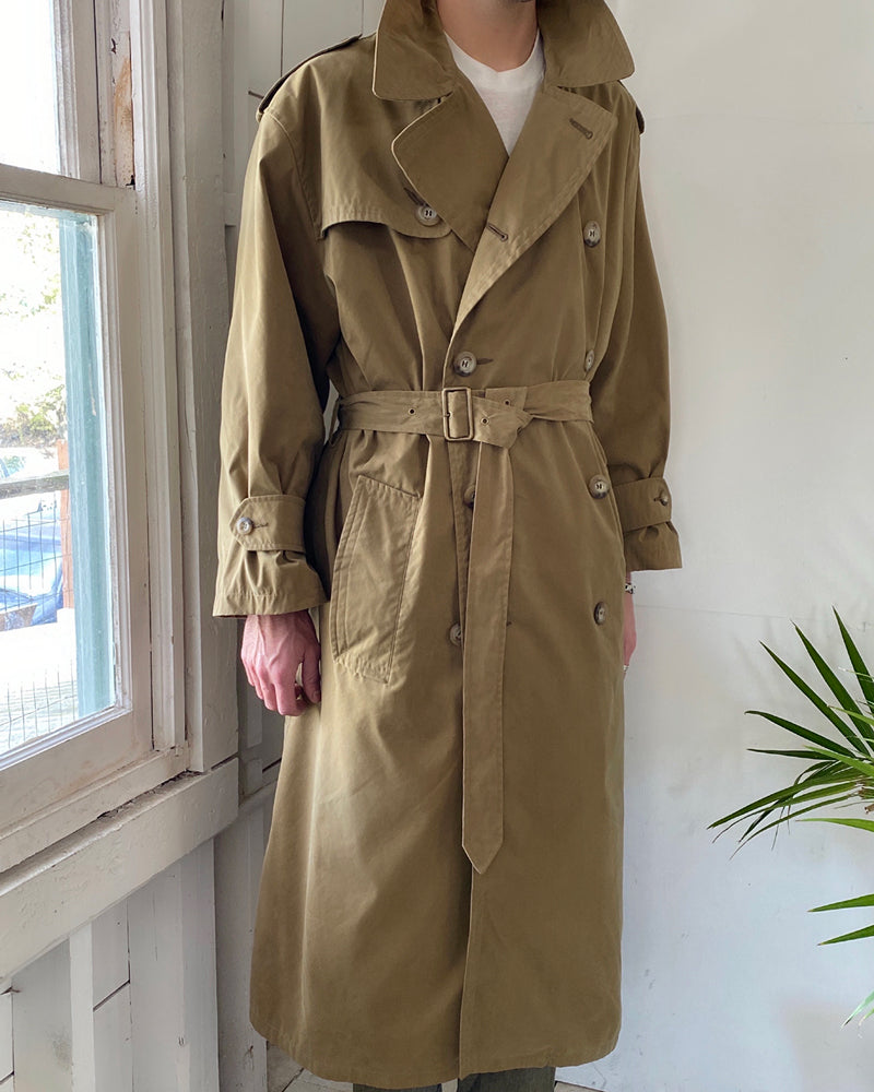 90s Armani Belted Trench