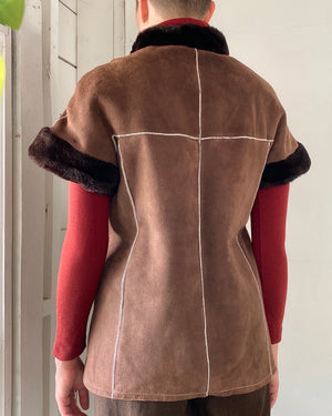 80s Dior Shearling Jacket