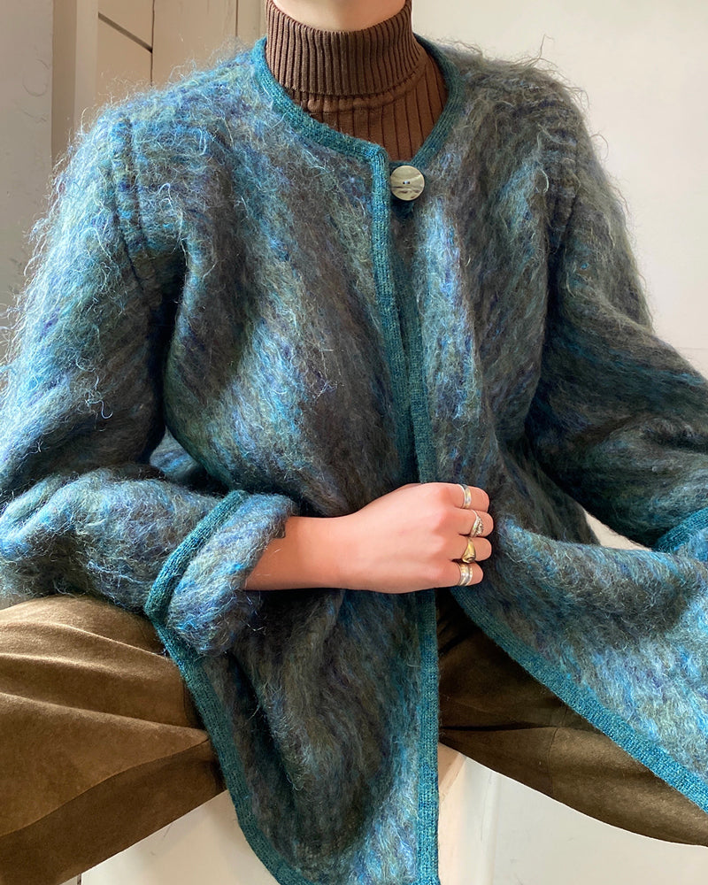80s Missoni Mohair Coatigan