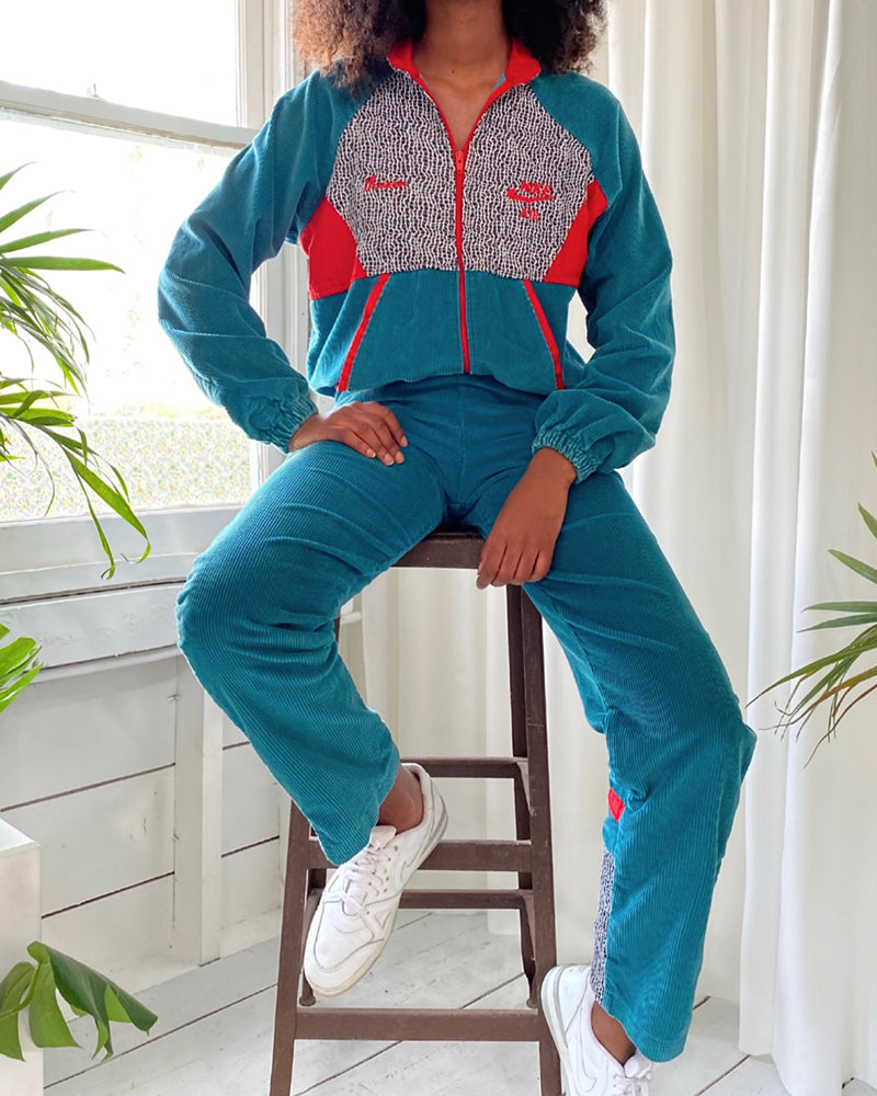 80s Bootleg Nike Track Suit
