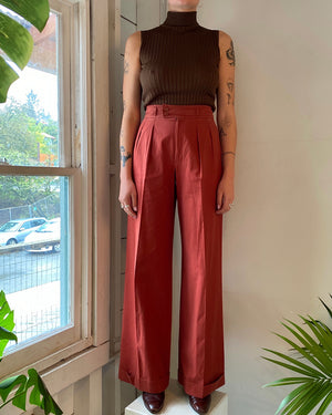 70s YSL Wide Leg Trousers