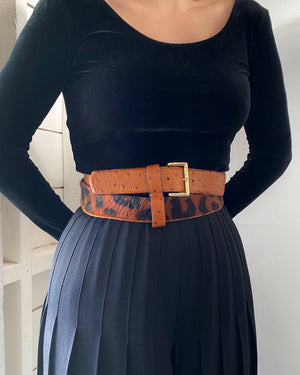 90s Ferre Double Wrap Belt