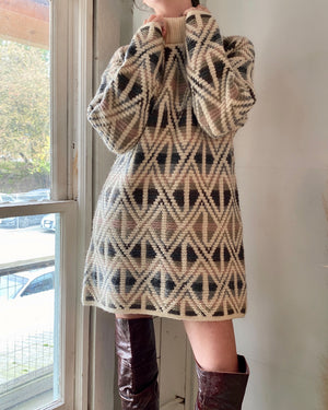 90s Oversized Sweater Dress