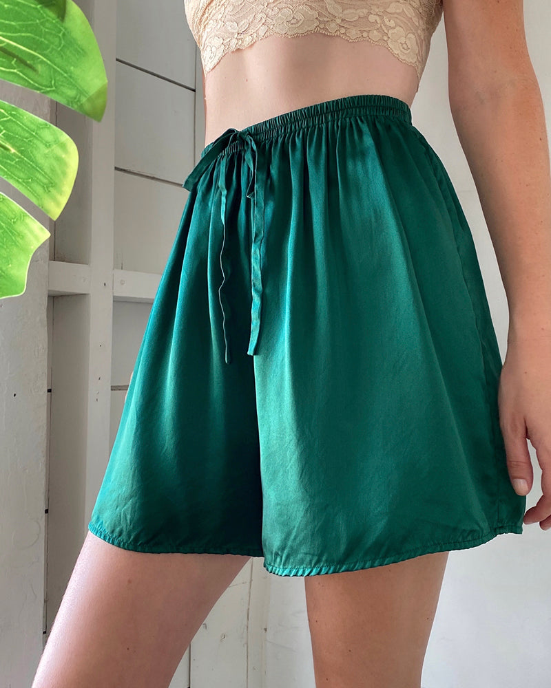 90s Victoria's Secret Silk Shorts