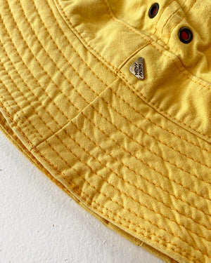 90s Yellow Bucket Hat