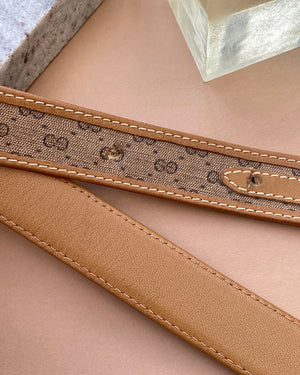 80s Gucci Monogram Double G Belt