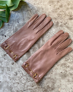 70s Unworn Leather Gloves