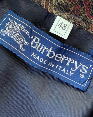 90s Burberry Pleated Skirt