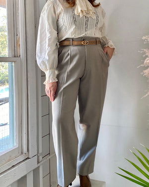 80s Matsuda 50s Style Trousers