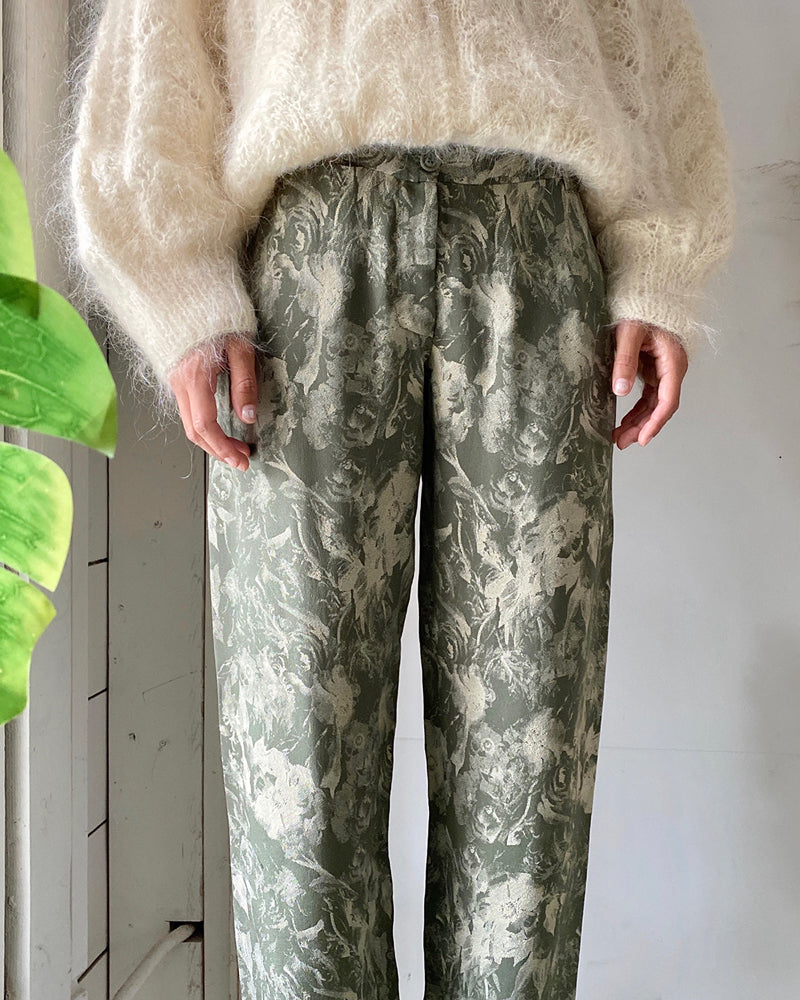 Y2k Moschino Silk Pants
