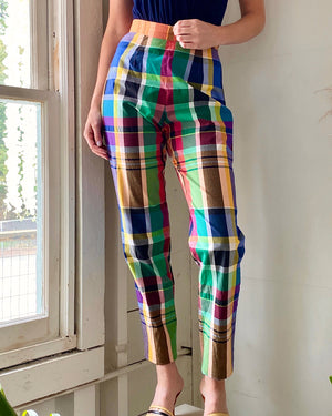 90s Plaid Pants