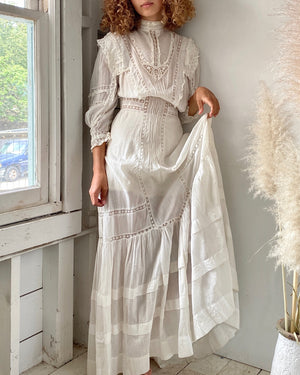 Victorian Cotton Dress