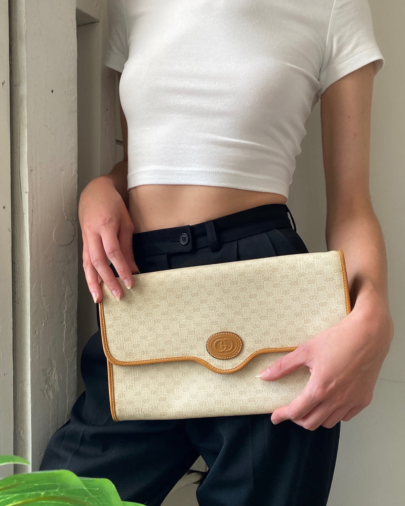 80s Gucci Clutch
