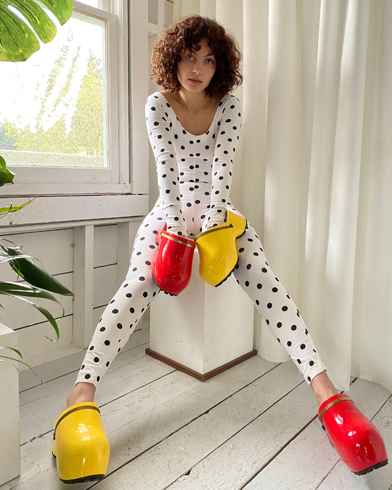 80s Betsey Johnson Catsuit