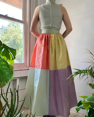 60s Bill Blass Organza Dress