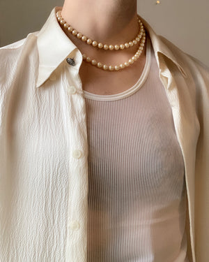80s Pearl Necklace