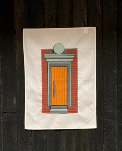 Attica x Tom Gerrard 'Front Door' Tea Towel