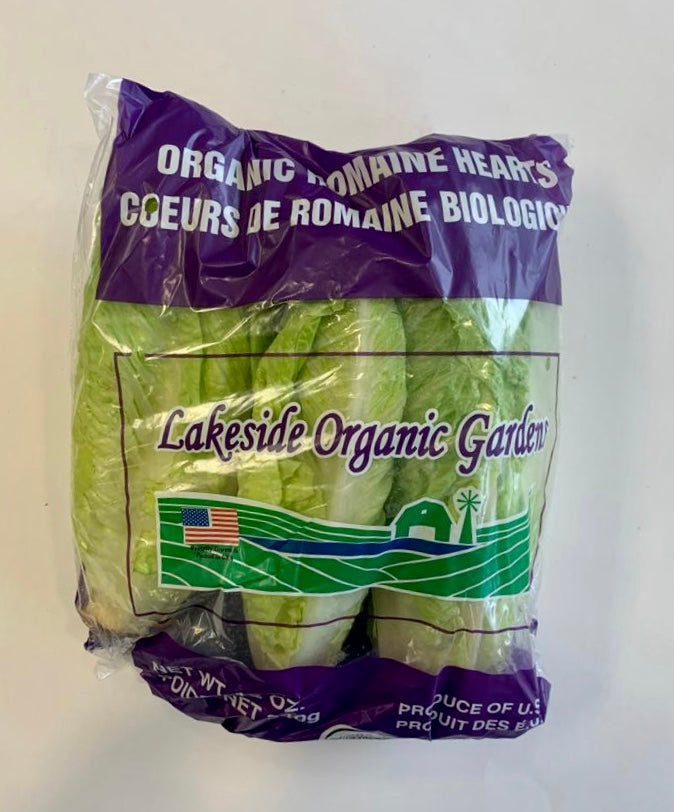 Organic, Romaine Heart 3pck