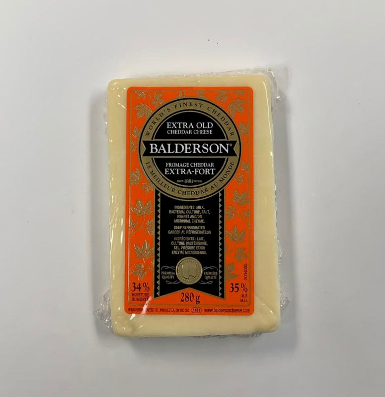 Cheese, Balderson Extra-old Cheddar