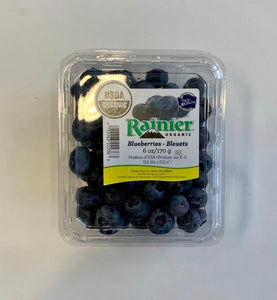 Organic, Blueberries