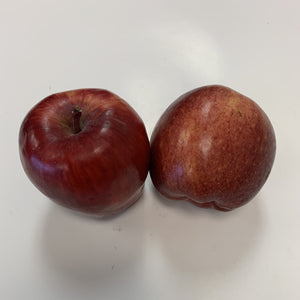 Red delicious apple, each