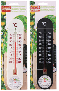 Thermometer en hygrometer combo