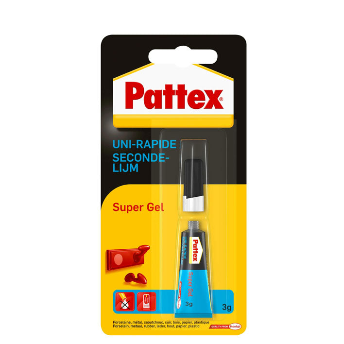 PATTEX SECONDELIJM SUPERGEL