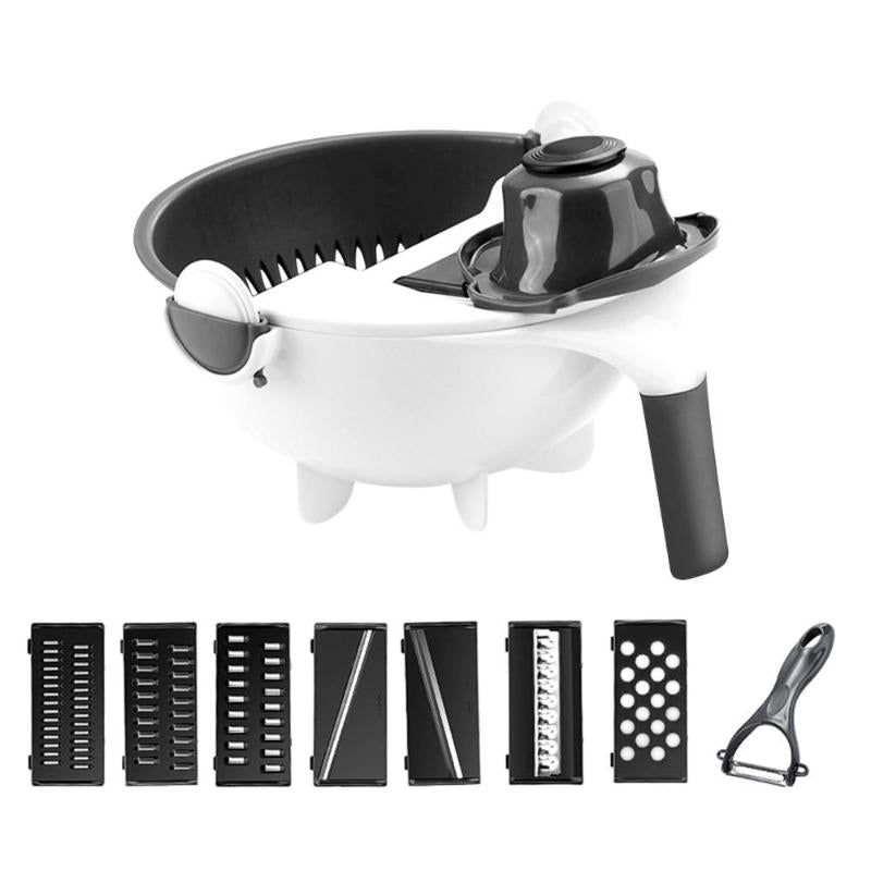 9 In 1 Multi-Function Vegetable Cutter - Gadget Homez